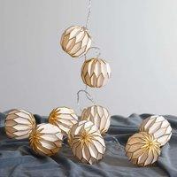 Origam LED string lights  gold