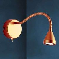 Flexible LED wall light MINI  antique design