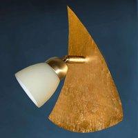 Gilded wall light ELEGANCE