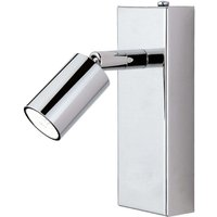 6 5 W LED wall spotlight Karen  polished chrome