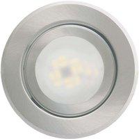 Recessed light Joanie with LED  brushed aluminium