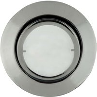 Round LED recessed light Joanie  chrome