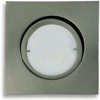 Brushed iron LED recessed light