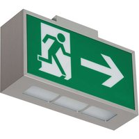 Premium LED safety light C Lux  exit right