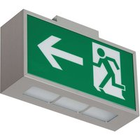 Premium LED safety light C Lux  exit left