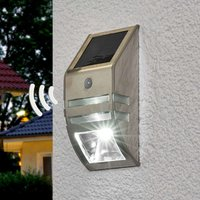 Sol WL 2007 LED solar wall light with MD