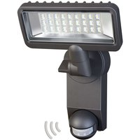 With motion detector   City LED outdoor spotlight