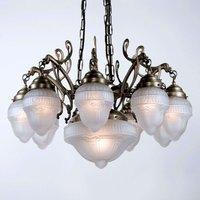 ARNO multi bulb hanging light handmade