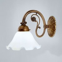 Gina wall light made of brass