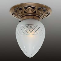 Pauline   small ceiling light made of brass