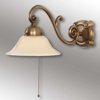 Ella antique designed wall light made of brass