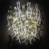 Opulent glass hanging light Eden