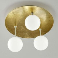 Sfera   gold plated LED ceiling light