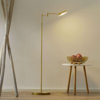 B Leuchten Graz LED floor lamp  brass