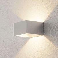 B Leuchten Cube wall light chrome
