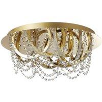 B Leuchten Sissi LED ceiling lamp  chrome