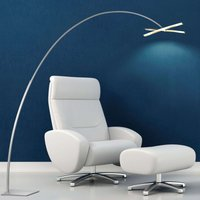 Arco   LED Arc lamp with dimmer button