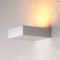 Discreet LED wall uplighter Cubus