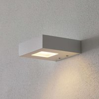 White LED wall uplighter Cubus
