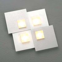 Bopp Pixel 2 0 LED ceiling light 4 bulb aluminium