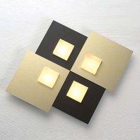 Bopp Pixel 2 0 LED ceiling light 4 bulb black