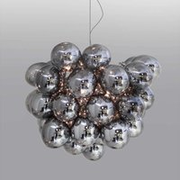 By Ryd ns Glass pendant lamp Gross  smoky grey