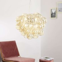 By Ryd ns Glass pendant lamp Gross  amber