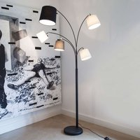 By Ryd ns Foggy floor lamp with five lampshades