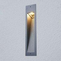 Bega   rectangular LED recessed wall light Silas