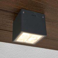 Bega   angular LED ceiling light Gunnar IP65