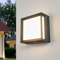 Bega   square LED outdoor wall light Duran IP65