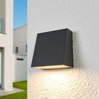 Bega   narrow LED outdoor wall lamp Dennis