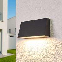 Bega LED outdoor wall light Dennis  aluminium