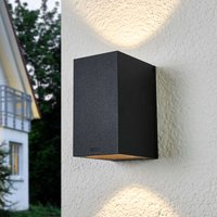 Bega Fred LED outdoor wall lamp two light outlets