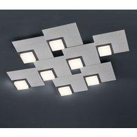 BANKAMP Quadro LED ceiling light 64 W  silver