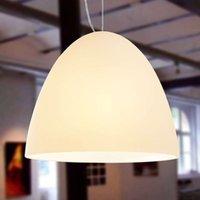BELL   1 bulb sand coloured pendant light 21 cm