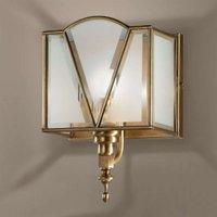 Beautiful burnished wall light Classic