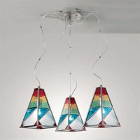 Tif three bulb hanging light