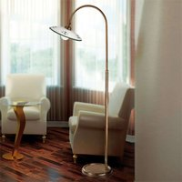 Bassano traditional floor lamp green