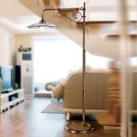 Graceful Bassano floor lamp blue