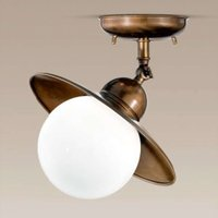 Pivotable Taverna ceiling light