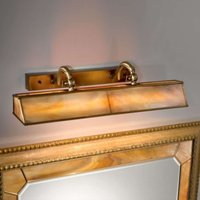Classic Galleria picture light amber  brass