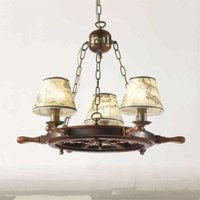 Impressive Porto chandelier three bulb