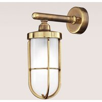 Vicolo   high quality outdoor wall lamp  brass