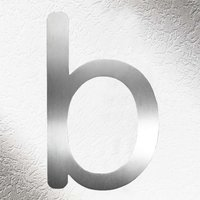 High Quality House Numbers   Letter b