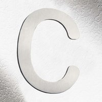 High Quality House Numbers   Letter c