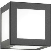 Cubo Cube shaped Exterior Wall Lamp  Anthracite