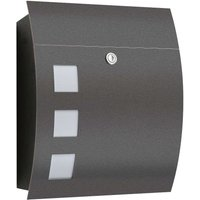 Nila High Quality Letterbox  Anthracite