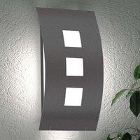 Graal Subtle Exterior Wall Lamp excl  Sensor