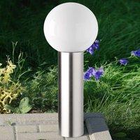 Kekoa decorative stainless steel pillar light